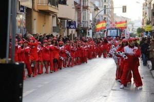 Carnaval infantil pilotos de F1 febrero 2016